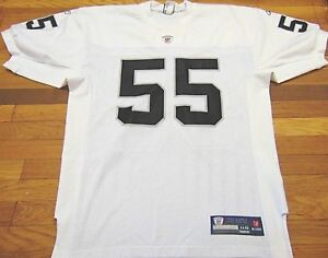 on sale e8c51 0c448 Details about 100% AUTHENTIC REEBOK NFL OAKLAND RAIDERS ROLANDO McCLAIN  JERSEY SIZE 48