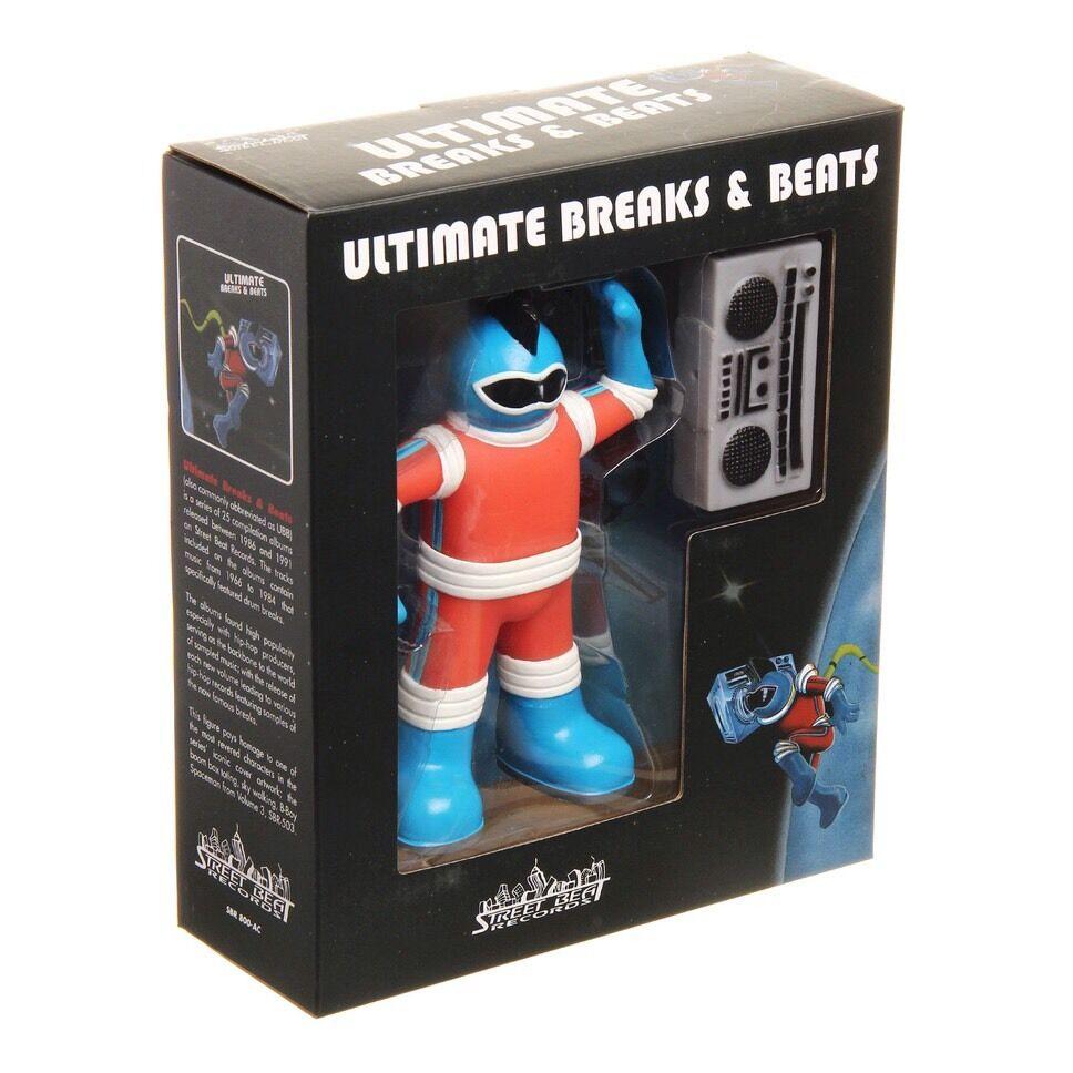 Ultimate Breaks & Beats Robot Spaceman Toy Rare
