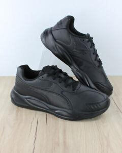 Puma-Scarpe-Sportive-Sneakers-Running-90s-Runner-SL-Uomo-Nero