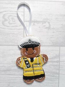 Policeman Bear Christmas Tree Decoration