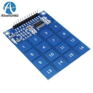 Arduino-ttp229-16-Canales-Digital-Capacitiva-Switch-sensor-de-toque-modulo