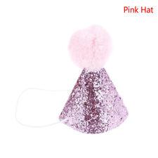 Item 2 Pet Cat Dog Happy Birthday Hat Party Crown Bow Tie Soft Cap Puppy Headwear EF