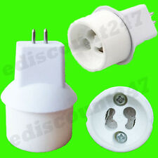HIGH QUALITY MR16 To GU10 Lamp Holder Adaptor Converter UK STOCK - FAST DISPATCH