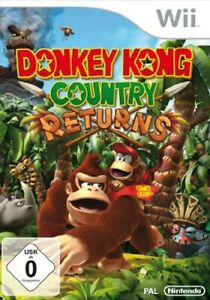 Nintendo-Wii-Spiel-Donkey-Kong-Country-Returns-mit-OVP