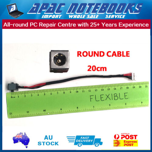 6Pin Round Cable DC Power Jack ASUS F552L F552LA F552LAV