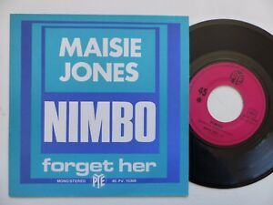 MAISIE-JONES-Nimbo-Forget-her-45PV-15368-Pressage-France-Discotheque-RTL