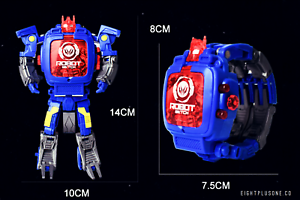 Transformer-robot-toy-watch-2-ways-use