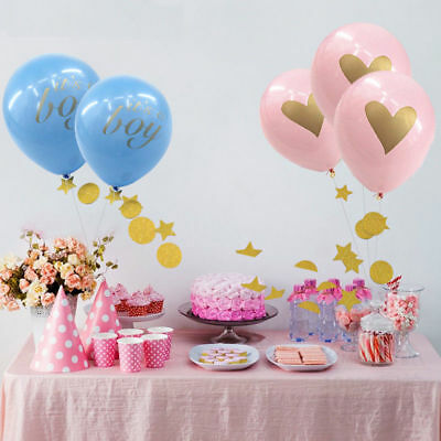 2X Boy Girl Lovely Feet Balloon Baby Shower Foot Foil Balloons Decoration FO