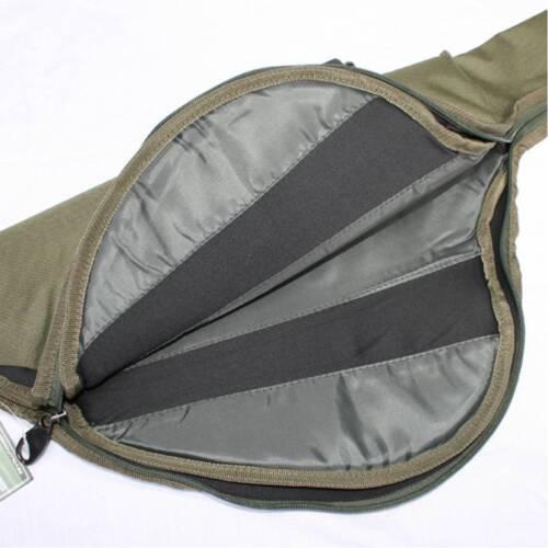 2 x tige de nouveau moulinet   manches fourre-tout sac peche carpe rembourré pour composé la carpe tiges