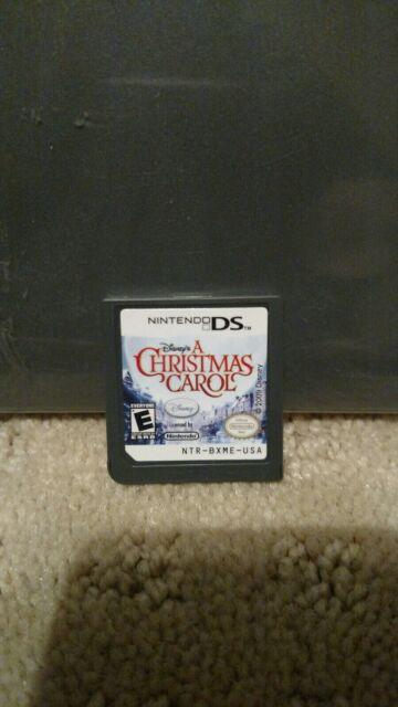 A Christmas Carol Nintendo DS Game Disney Jim Carrey   eBay