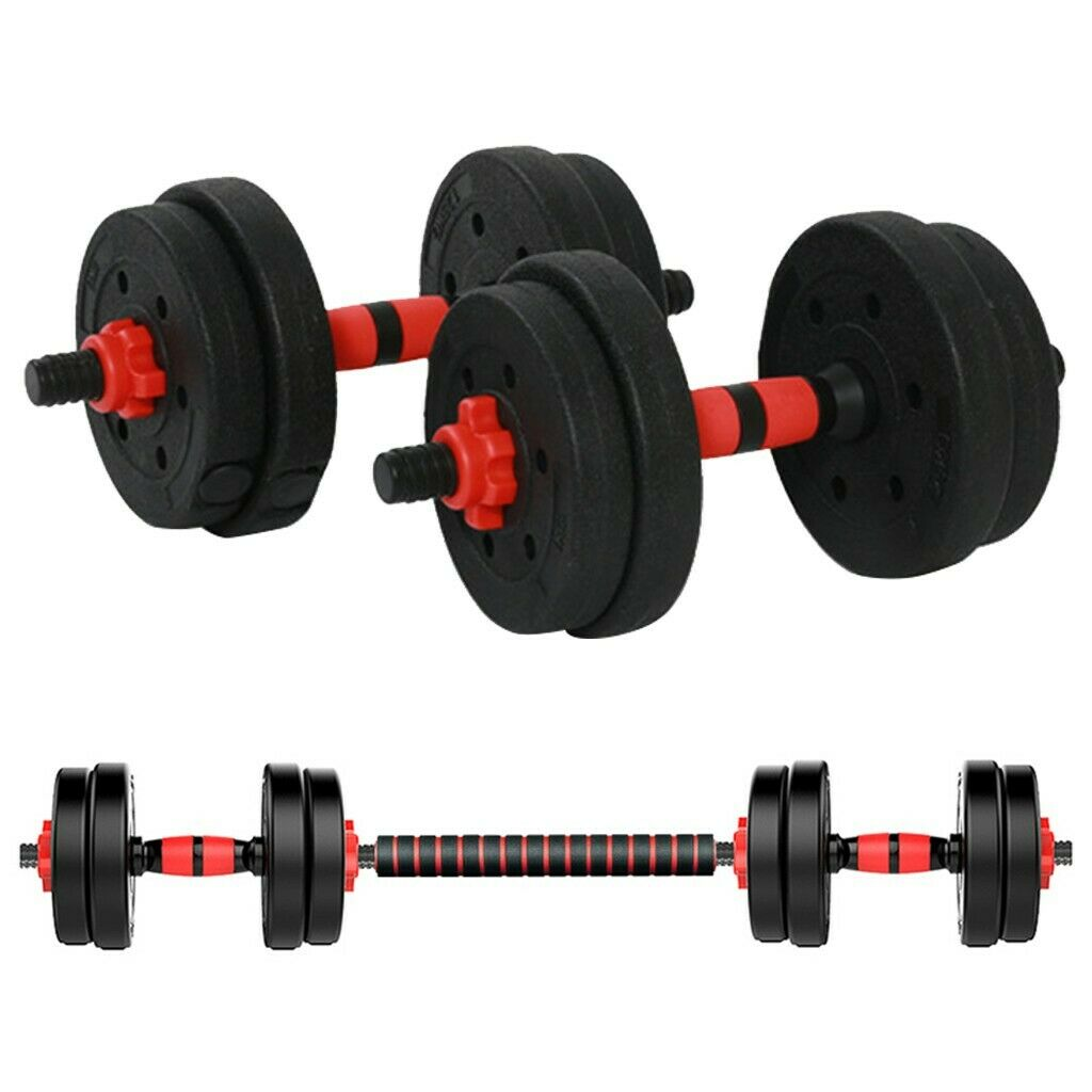 Details about  /50kgAdjustable Dumbbell Pair Dumbbell Combination Environmental Dumbbell Barbell
