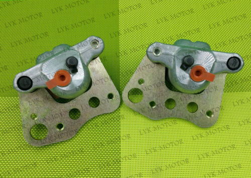 New Front Left Right Brake Calipers For 2004 Polaris Scrambler 500 With Pads