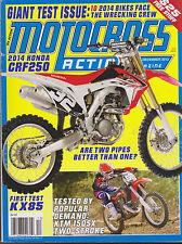 MOTOCROSS ACTION MAGAZINE DECEMBER 2013 *THE TEST ISSUE*