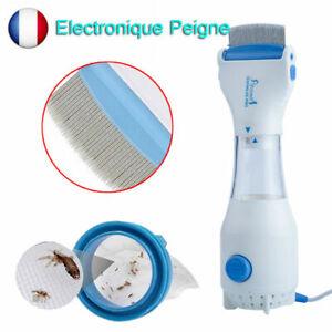 Peigne-Anti-Poux-Electrique-3-Filtre-Chimique-Poux-Detecte-Tue-la-Tete-Neuf-FR