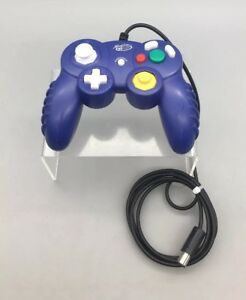 MAD-CATZ-CONTROLLER-PURPLE-Nintendo-Gamecube-Model-5616-B30