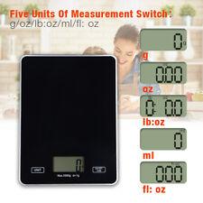Digital Kitchen Scale 5kg5g Lcd Stainless Steel Food Diet Weigh