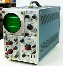 Vintage Tektronix 561 Oscilloscope With 3a1 And 67 Time Base