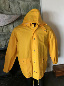 baby great varieties timeless design Details about Classic Yellow Rain Slicker w/ Snap-off Hood Weather-Rite  Style 8117 XL