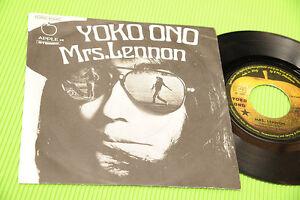 YOKO-ONO-7-034-MRS-LENNON-BEATLES-ORIG-ITALY-1971-EX-ONLY-ITALY-COVER
