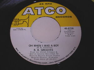 R-B-Greaves-Oh-When-I-Was-A-Boy-Always-Something-There-To-Remind-Me-45-Soul