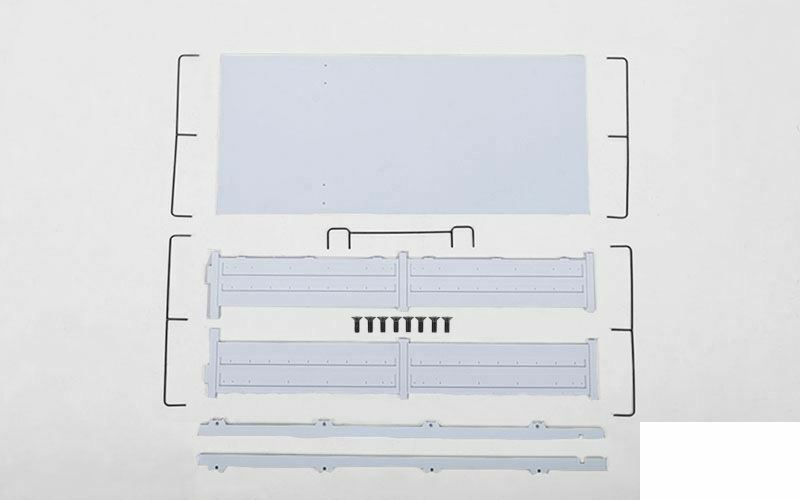 RC4WD Mil-Spec Hard Body Hardware Bag 2 Z-S1521 Rear Bed SIDES & Rails Beast II