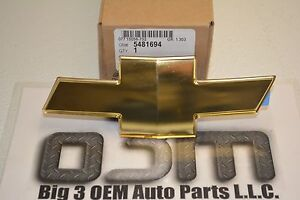 2005-Chevrolet-Equinox-Gold-Bow-Tie-Front-Grille-Emblem-OEM-new