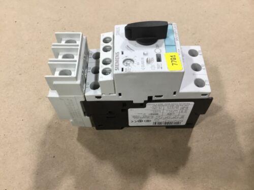 Siemens Sirius 3RV1021-1JA10 Motor Starter Protector W// 3RV1928-1H #02C35TK