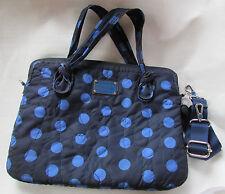 "Marc by Marc Jacobs 15"" Laptop Messenger Bag Pretty Nylon Polka Dot Used"