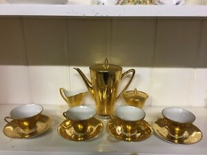 Johan-feltmann-vohenstrauss-Bavaria-gold-coffee-set