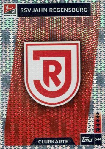 2019 Karte Nr Topps Match Attax 18//19 Bundesliga 2018 544 SSV Jahn Regensburg