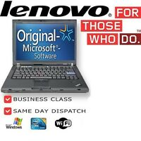 FAST Laptop Lenovo Thinkpad X220 i5 2.5GHz 4GB 320GB Windows 7 WEBCAM GRADE B