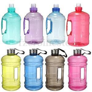 2-2-l-2-L-1-L-Grand-Big-BPA-Free-boire-Entrainement-Eau-Bouchon-Cup-Gym-Sport-Formation