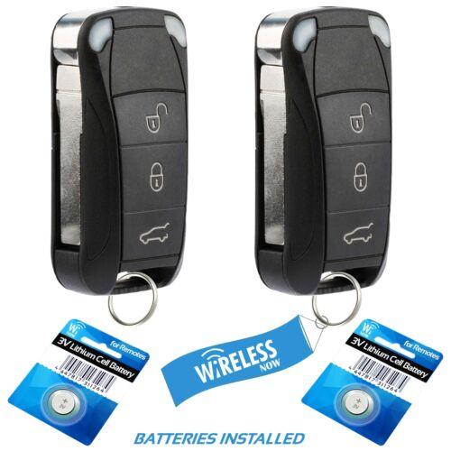 2 Car Key Fob Keyless Remote For 2006 2007 2008 2009 2010 2011 Porsche Cayenne