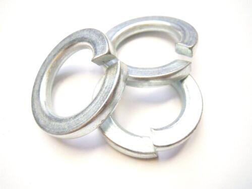 Federring 20 mm Federstahl DIN 127 B verzinkt Federringe Spannring 10 Stück