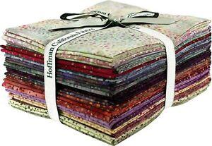 Hoffman-Bali-Dot-Batik-Fat-Quarter-Bundle-885FQ-389-Paprika-20-Fat-Quarters