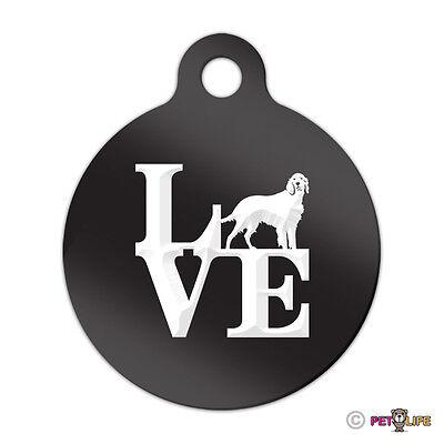 Mister Petlife Love Labradoodle Engraved Keychain//GI Tag Park v2 Doodle Black