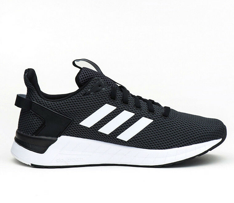 super popular 39454 f4a0c Adidas Questar Ride Black White Carbon Men Running Training Training  Training shoes Sneaker DB1346 9e7e47