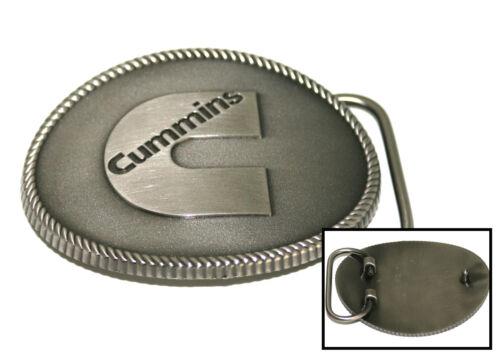 "Cummins Diesel Engines Dodge Trucks Heavy Duty Metal Cowboy /""C/"" Logo Belt Buckle"