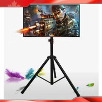 Usa Seller!portable Flat Panel Monitor Stand With Foldable Tripod Tv Stands