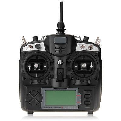 FlySky FS-TH9X Radiocomando 2,4G 9 Canali AFHDS GFSK LCD + Ricevitore per Aereo