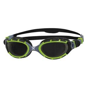 Zoggs-Predator-Flex-Reactor-Titanium-Swimming-Goggles-Includes-Goggle-Case