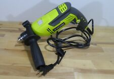 Ryobi Hd420 5 Amp Corded 12 Variable Speed Hammer Drill Used 4030