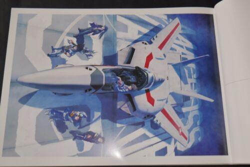 Art Book Third Sortie japan Tenjin Hidetaka Art Works of Macross Valkyries