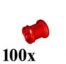 LEGO NEW Technic 100pcs RED BUSH Bushing 1/2 Axle Connector Mindstorm Part Piece