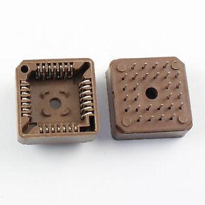 50Pcs PLCC28 28 Pin DIP Socket Adapter PLCC Converter