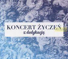 """= KONCERT ZYCZEN """"z dedykacja""""/ 3 CD sealed [ tylko POLSKIE piosenki ]"""