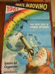 Calendario Frate Indovino Ebay.Dettagli Su Calendario Frate Indovino 1961 Sono Tutte Belle Le Mamme Del Mondo