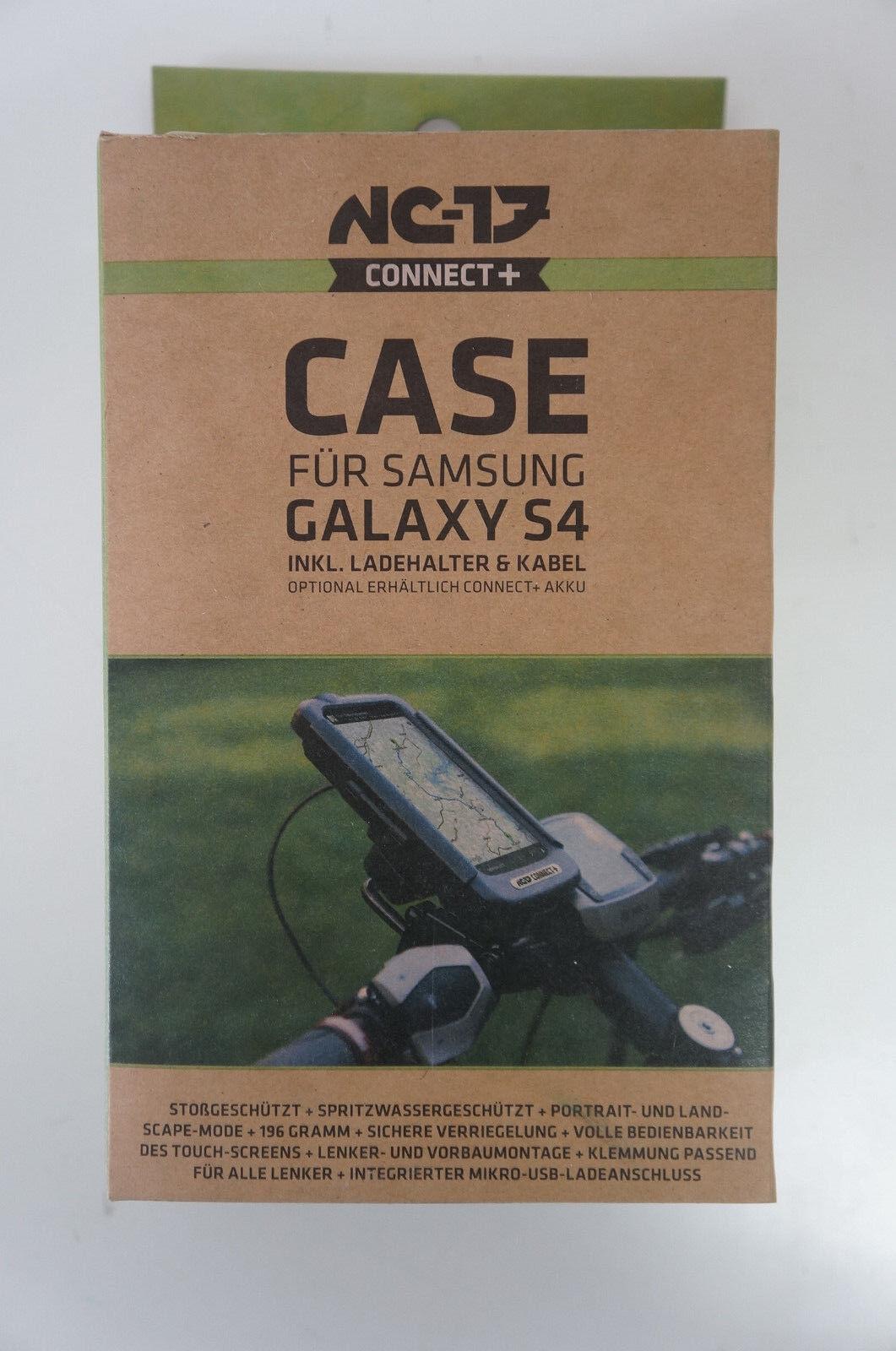 Nc-17 Connect + bike case case case + soporte de carga para Galaxy s4 negro nuevo  162 64aeaf