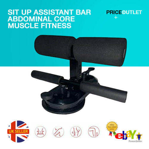 Sit Up Assistant Bar Abdominal Core Muscle Fitness Home Gym Exercise Equipment