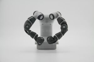 Details about 1:4 ABB YUMI Industrial Robot Six-axis Model Manipulator  Robot Arm 3D Model Gift